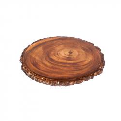 Topf-Untersetzer Akazienbaum-Scheibe 18 cm