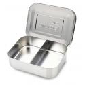 Duo Lunchbox aus Edelstahl 600 ml