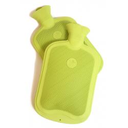 Wärmflasche groß aus FSC-Naturlatex mit Hülle