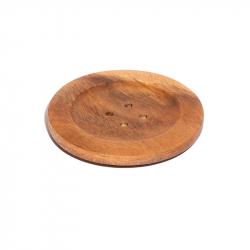 Holzdeckel 'Knopf' 11 cm