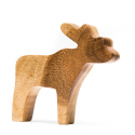 Holzfigur Rentier Fairtrade