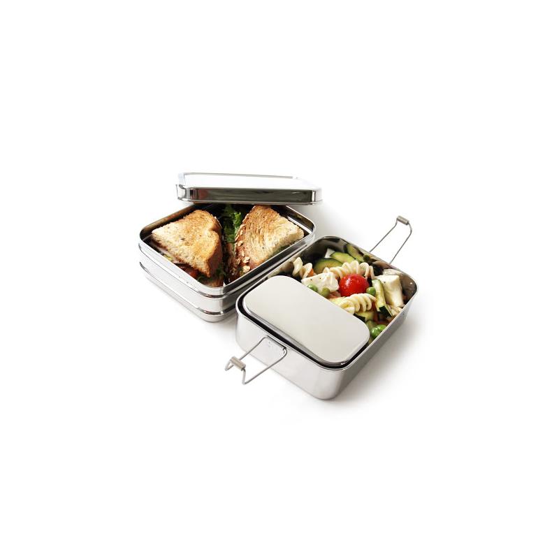 3 in 1 edelstahl lunchbox. Black Bedroom Furniture Sets. Home Design Ideas