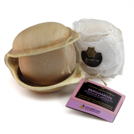 Ayurvedische Seife Bergamotte
