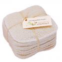 Reinigungspads wiederverwendbar aus Hanf und Baumwolle