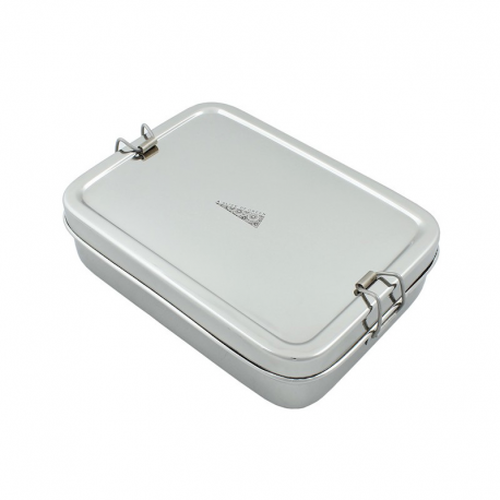 Große edelstahl Lunchbox plus Mini Box