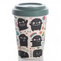Kaffee-to-go-Becher aus Bambusfasern