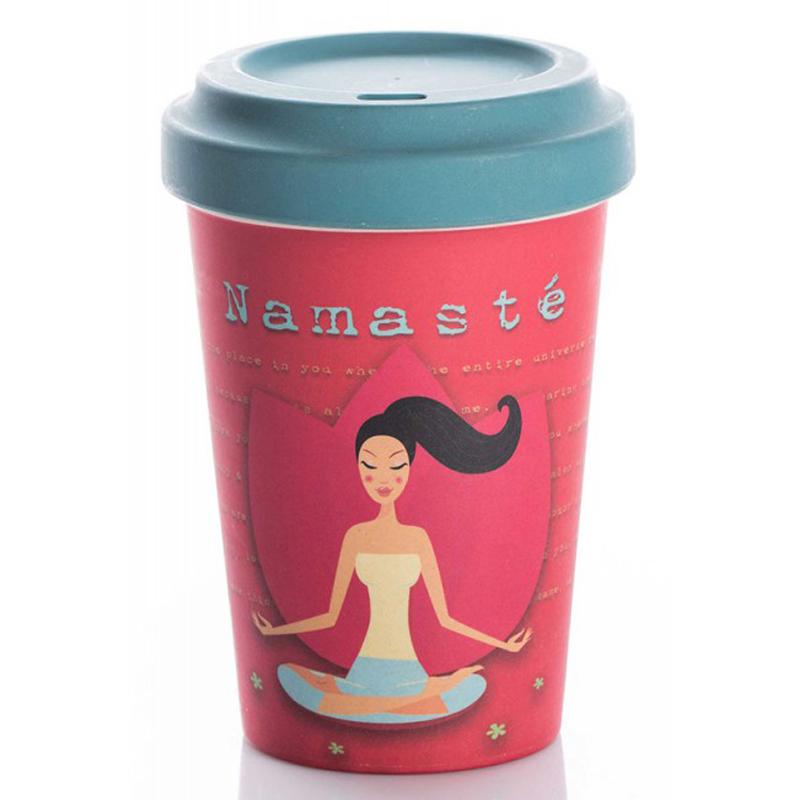 kaffee to go becher aus bambusfasern. Black Bedroom Furniture Sets. Home Design Ideas