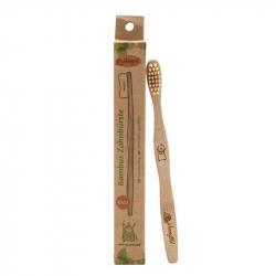 Kinderzahnbürste aus Bambus