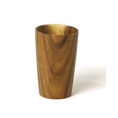 Holz-Zahnputzbecher