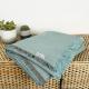 Decke aus recycling Baumwolle