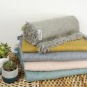 Decke aus Recycling-Baumwolle