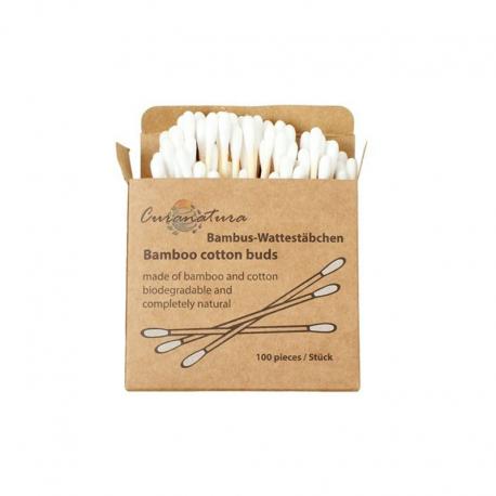 Bambus-Wattestäbchen