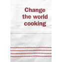 Fair Trade Schürze aus Bio-Baumwolle 'Change the World Cooking'