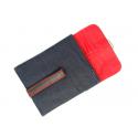 Tablethülle aus Jeans-Stoff