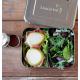 Jausenbox Edelstahl Bento Duo Lunchbots 960 ml