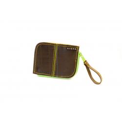 Fairtrade Geldbörse aus Autoreifen
