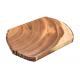 Schneidbrett Akazienbaumscheibe 23x33 cm