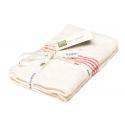 Fairtrade Bio Handtuch 30x55 cm 2-er Set GOTS Label