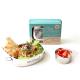 Edelstahl-Lunchbox-Set oval 900 ml