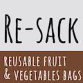 Obst- und Gemüsebeutel aus Bio-Baumwolle von RE-Sack
